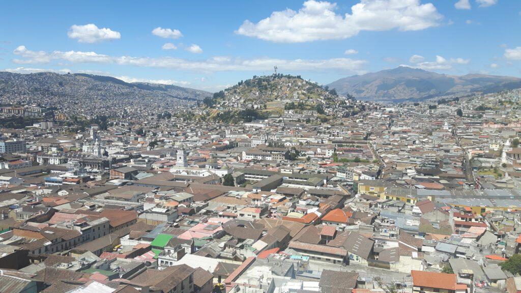 Inizia la mia avventura partendo dall'Ecuador - vista di Quito
