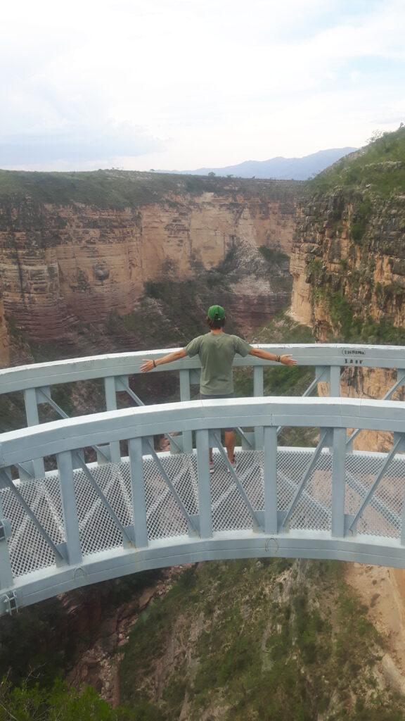 La vista sul maestoso canyon nel parco nazionale di Torotoro