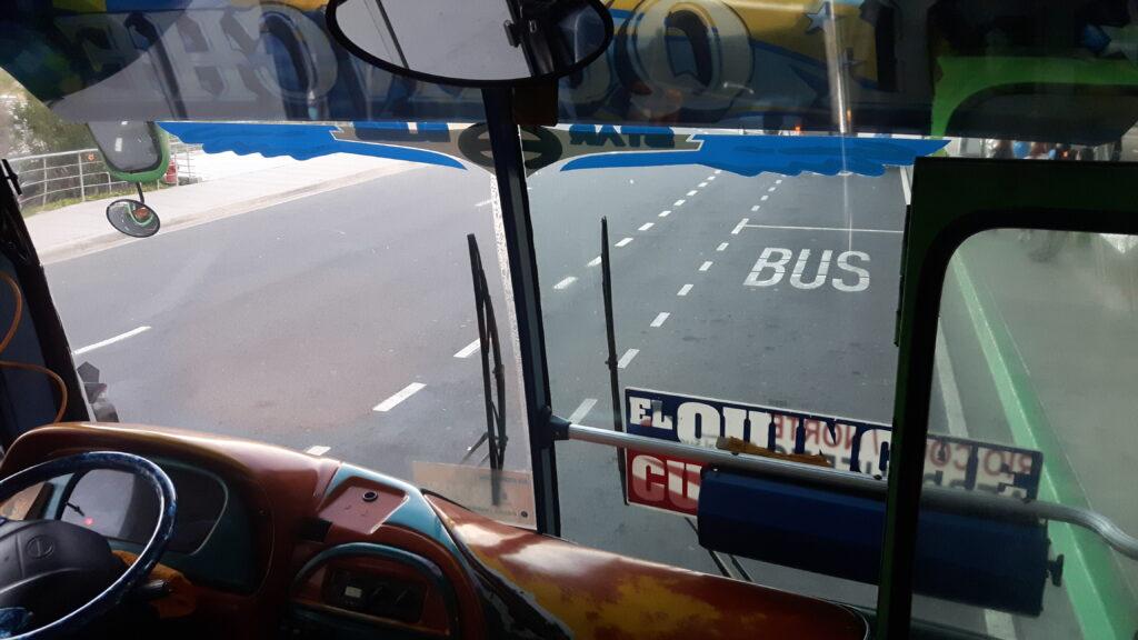 Sud America via terra - Il mio primo bus a Quito in Ecuador