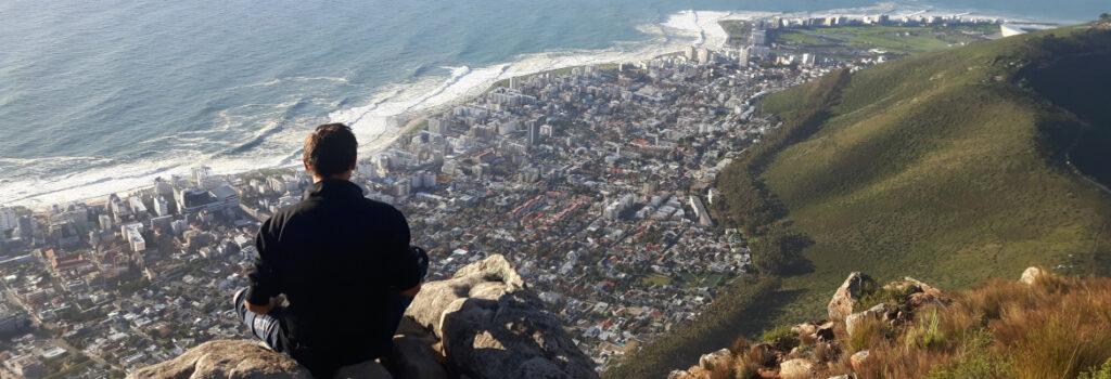 Cape Town vista dalla Lion's Head