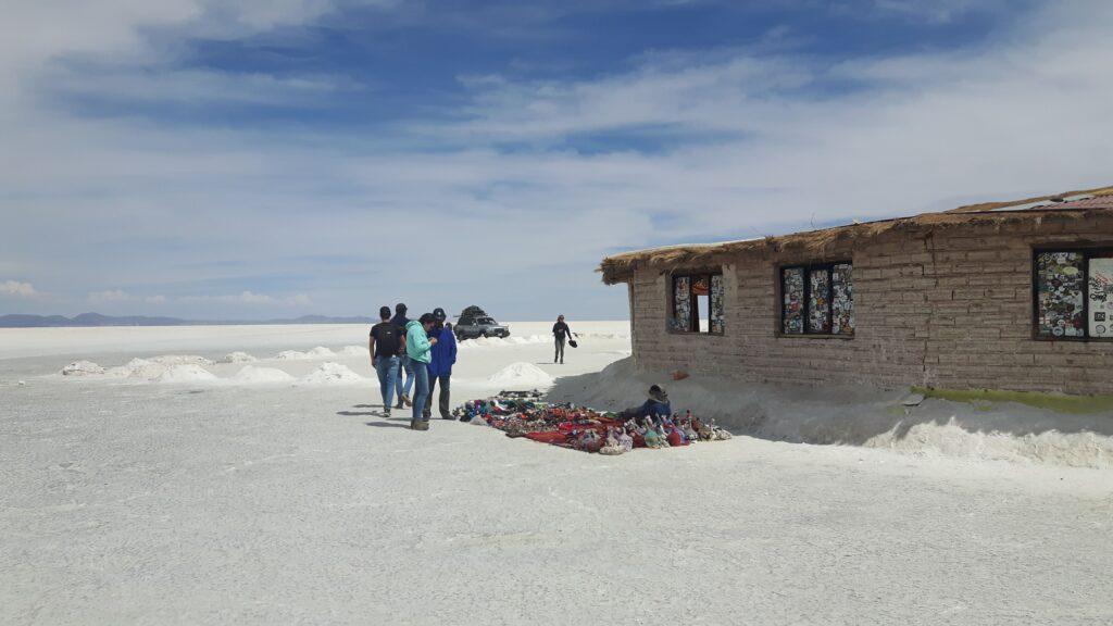 Il primo hotel di sale