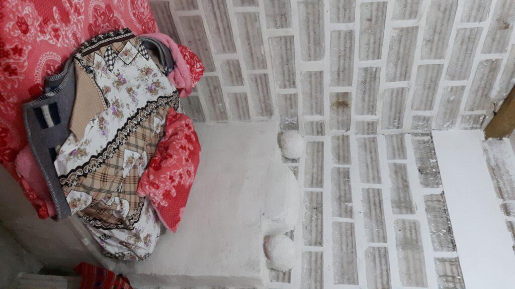 Il mio letto di sale la prima notte nel Salar de Uyuni