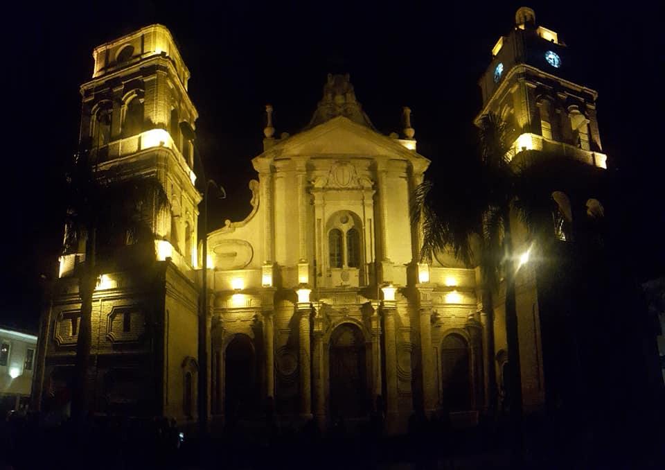 La Cattedrale nella piazza 24 settembre