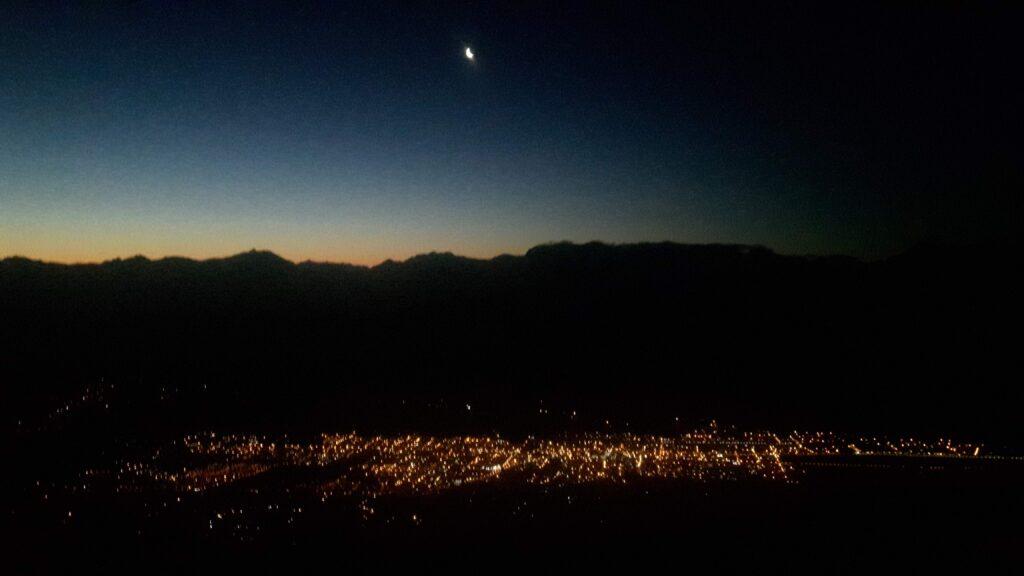Vista della città dal monte Piltriquitron